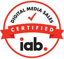 IAB certified digital media sales
