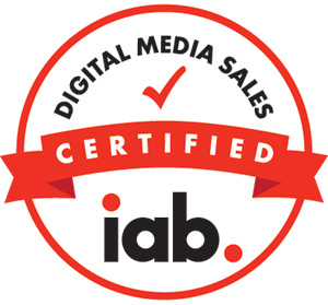 IAB certified for digital media sales