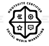 Hootsuite Certified Social Media Marketing