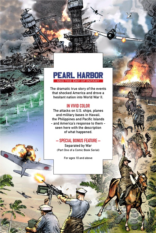 Attack on Pearl Harbor Comic Book