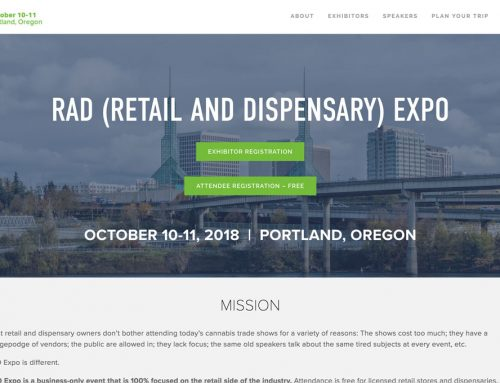 Cannabis retailers and dispensaries: Join us at the RAD Expo in Portland