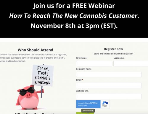 Webinar: How to Reach the New Cannabis Customer
